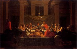 Poussin: The Sacrament of Holy Eucharist