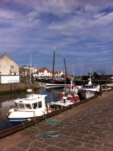 The 'Reaper' in Pittenweem Harbour